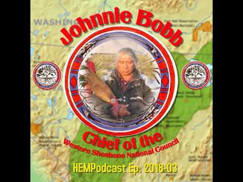 Johnnie Bobb, Chief of the Western Shoshone National Council