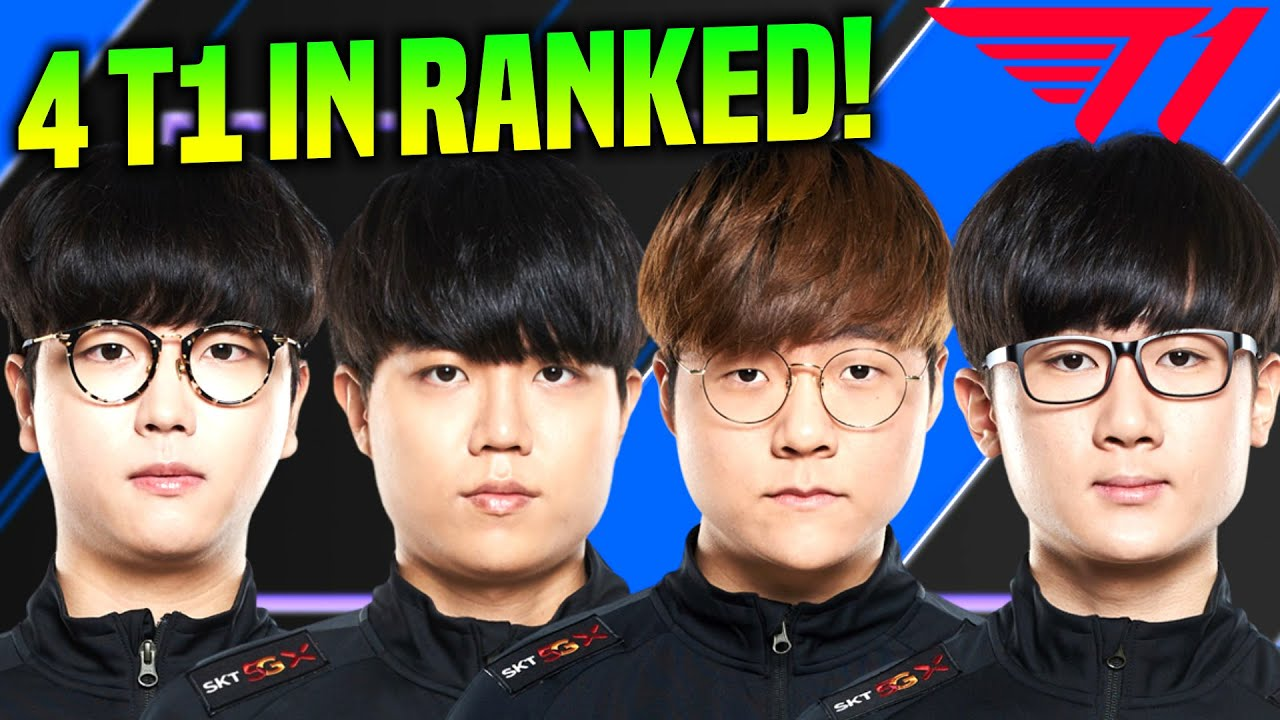 WHEN 4 T1 PLAYERS ARE IN THE SAME TEAM! - Roach, Cuzz, Teddy and Effort! | KR Patch 10.16