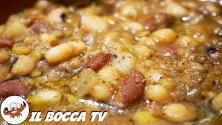 517 - Zuppa di legumi...sento già i suoi profumi! (primo piatto/minestra tipica genuina e facile)