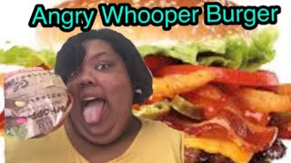 😡 Angry Whooper Burger King Review 🍔