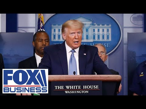 Trump joins Coronavirus Task Force in White House press briefing