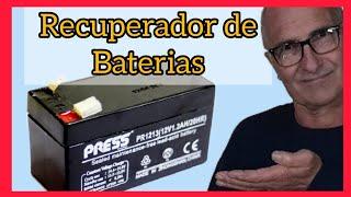 Recuperador de Baterias Muertas.----Recovery of Dead Batteries