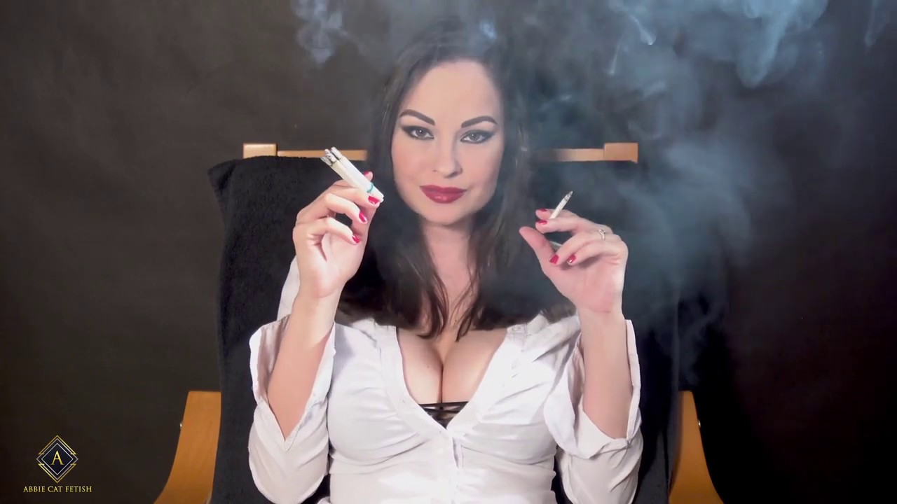 Smoking Fetish Leather Fuck