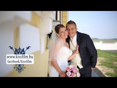 Eszter és Dávid esküvője Kótajban a Borostyán étteremben