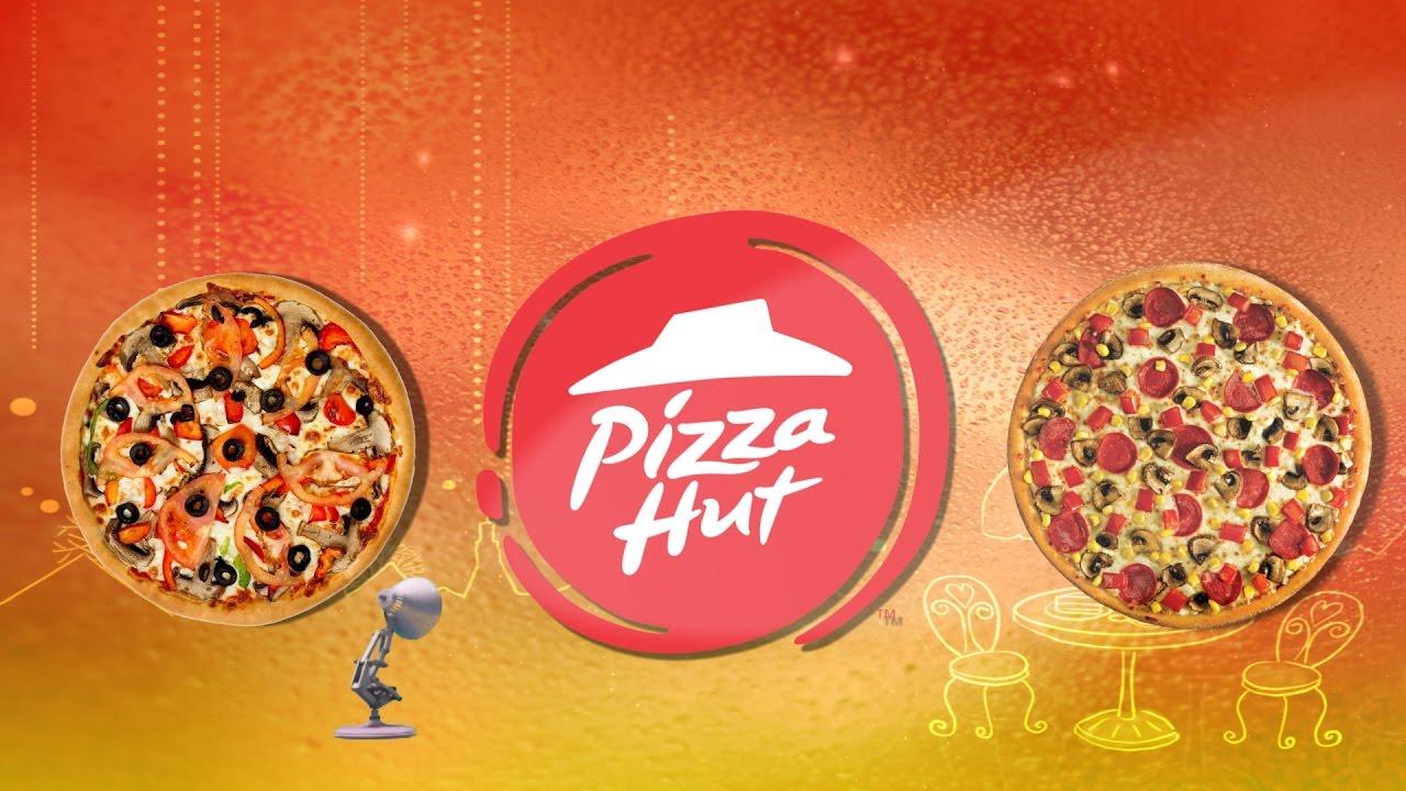 418 Pizza Hut Spoof Pixar Lamp Luxo Jr Logo