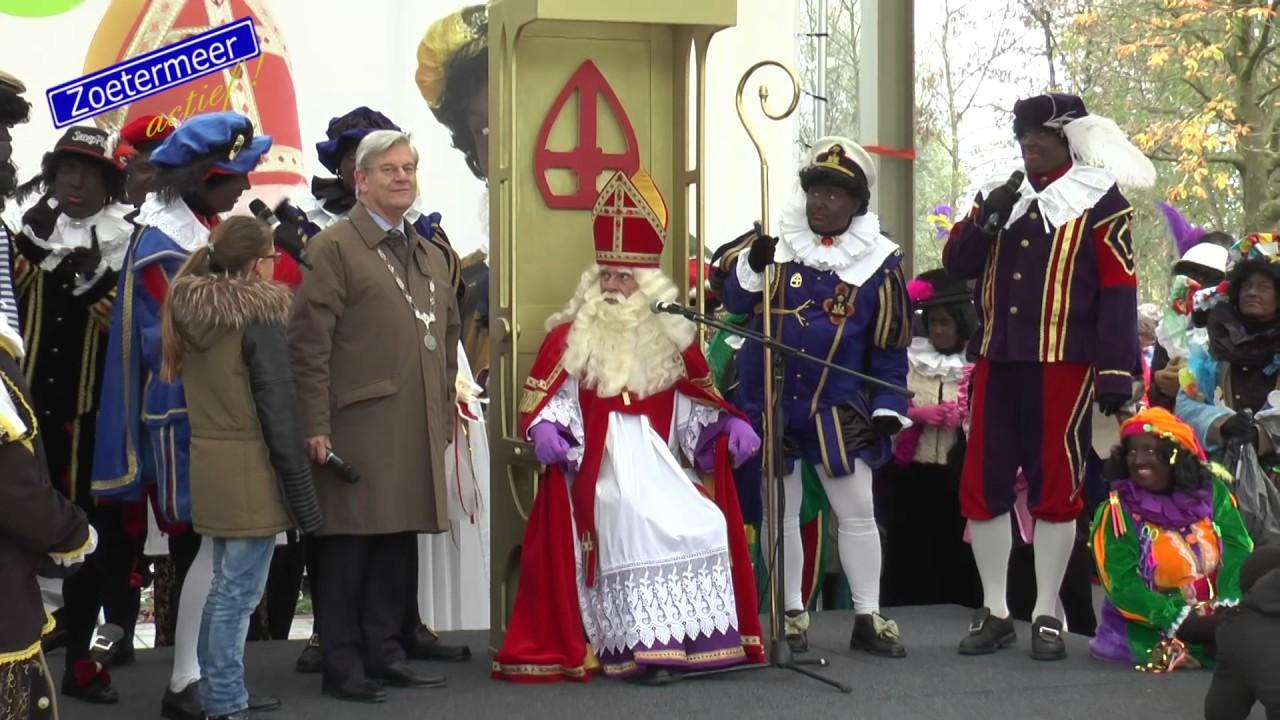 Intocht Sinterklaas 2016 Zoetermeer 12 11 2016 Youtube