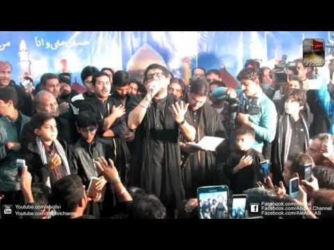Mir Hasan Mir - Abb Mujay Koi Sakina   - Imam Bargha Minhajul Hussain Johar Town Lahore 2015.
