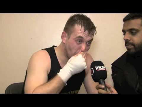 JAMES HELDER POST-FIGHT INTERVIEW FOR iFILM LONDON / HELDER v HENRY