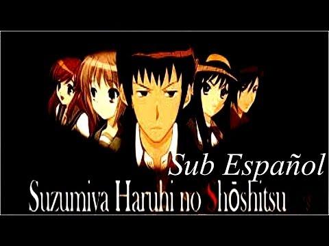 La desaparicion de haruhi suzumiya sub español