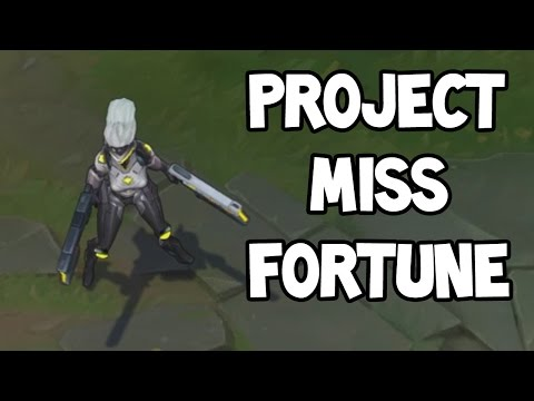 PROJECT MISS FORTUNE ADC GAMEPLAY - League of Legends