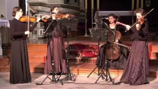 Moniuszko - String quartet no. 1: II. Andantino   QUARTETTO NERO