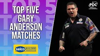 TOP 5: Gary Andęrson Performances