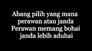 Perawan Janda - Cita Citata ( Lyrics )