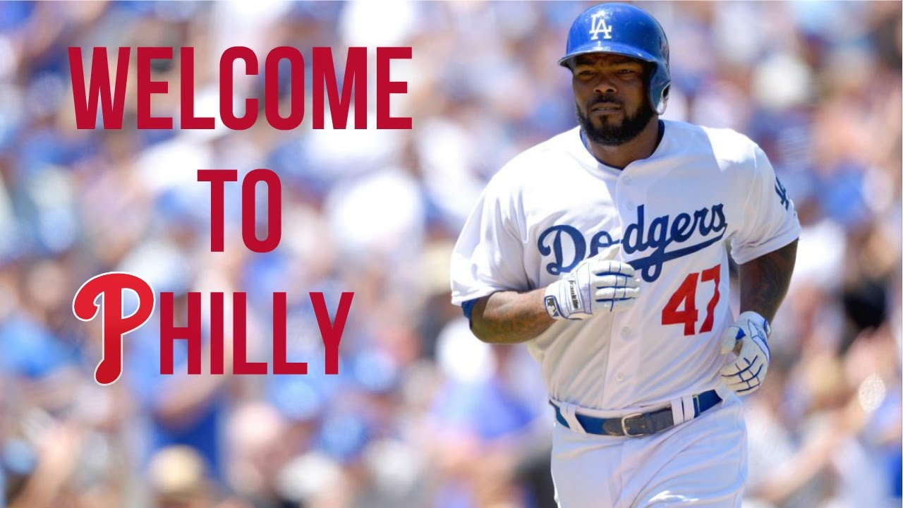 Image result for howie kendrick welcome to phillies