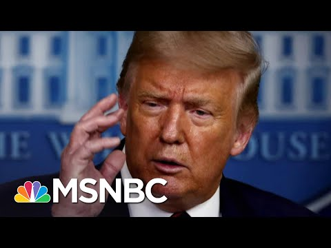 Trump Tries Damage Control After Dismissive Remark On COVID-19 Deaths | The 11th Hour | MSNBC