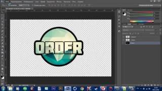 Как создать логотип №1 [Photoshop]