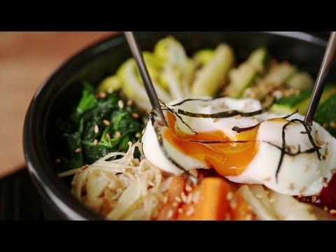 Video & Recipe 009 Vegetarian Bibimbap