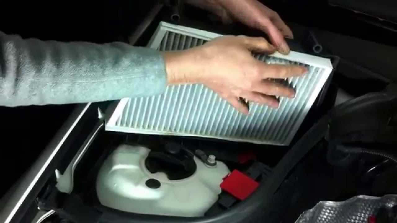 Mercedes C W203 Clk C209 How To Air Cabin Filter