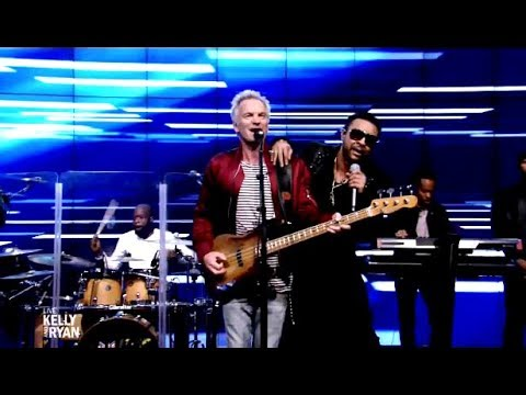 "Sting & Shaggy Perform ""Morning Is Coming"" (Live Kelly & Ryan)"