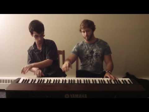 Sara Bareilles - Love Song Piano Duet | Frank & Zach Piano Duets
