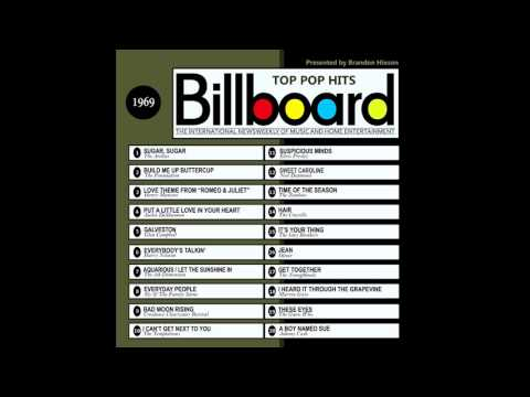 Billboard Top Pop Hits 1969 (2016 Full Album)