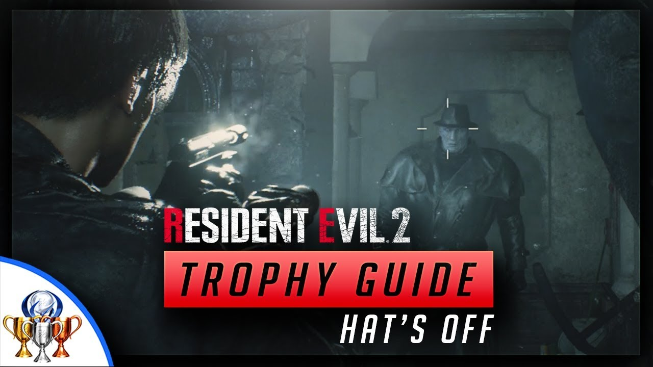 Resident Evil 2 Hat S Off Shoot Tyrant S Hat Off His