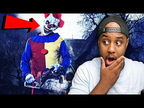 Top 5 SCARIEST CLOWN SIGHTINGS CAUGHT ON VIDEO REACTION!