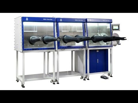 Lithium-Sulfur / Solid State Pouch Cell Fabrication Equipment in Glove Box
