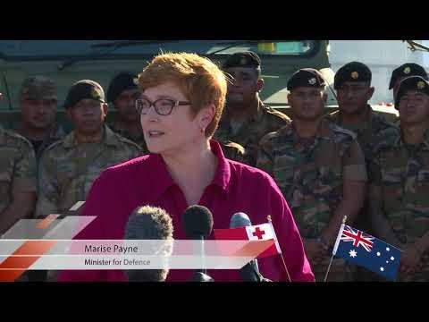 Unimogs donated to Tonga