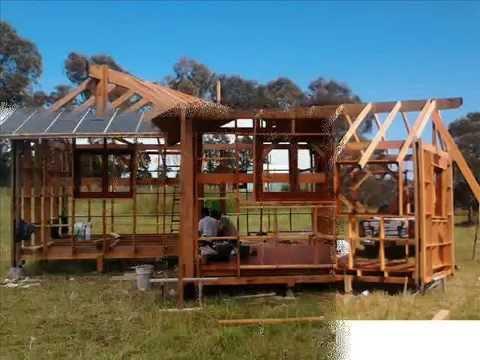 Caba a de madera industrializada l nea econ mica mar del plata youtube - Cabanas de madera economicas ...