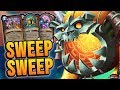 SWEEP to WIN! - Control Warrior | Rise of Shadows | Hearthstone