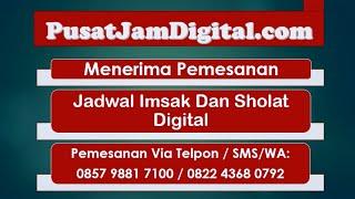 Download Video Menerima Pesanan Jadwal Imsak Dan Sholat Digital MP3 3GP MP4