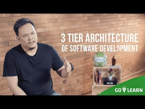 ▸▸ 3 Tier Architecture Of Software Development  // Taufan Aeroperkasa💡 GO-LEARN