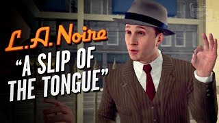 LA Noire Remaster - Case #8 - A Slip of The Tongue (5 Stars)