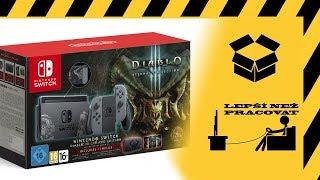 Český unboxing - Nintendo Switch Diablo III Limited Edition