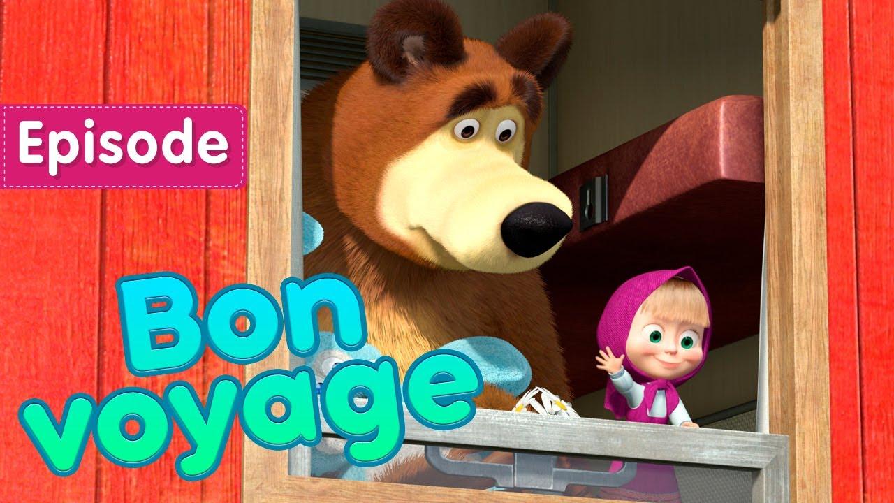 Download NEW EPISODE 💥 Masha and the Bear ✈️🌄 Bon voyage 🌄✈️ (Episode 37)