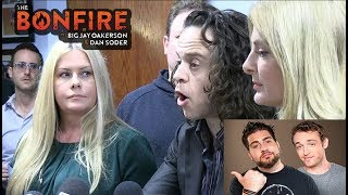 The Bonfire - Alexander Polinsky Scott Baio Accusations w/ Video Big Jay Oakerson Dan Soder