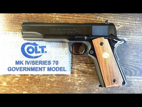 COLT 1911 - MK IV/SERIES 70 GOVERNMENT MODEL