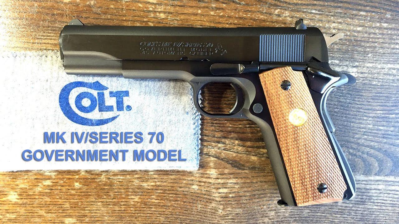 Colt mk iv series 80 serial number dating 2