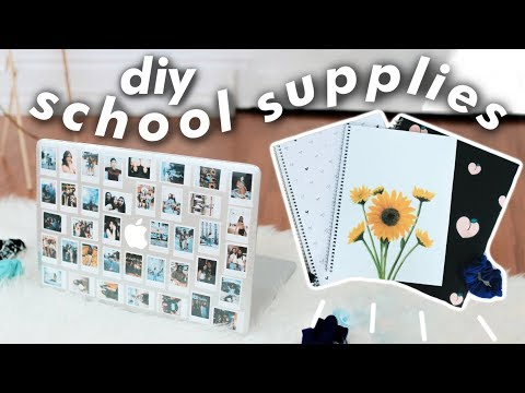 💫diy aesthetic school supplies | JENerationDIY