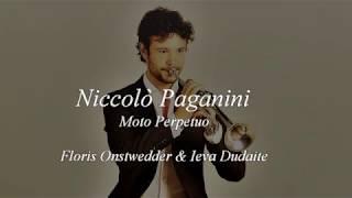 Floris Onstwedder plays Moto Perpetuo, Op.11 -  N.Paganini