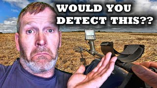 Equinox 800 Metal Detecting Uk WHY this was a bad field to metal detect?