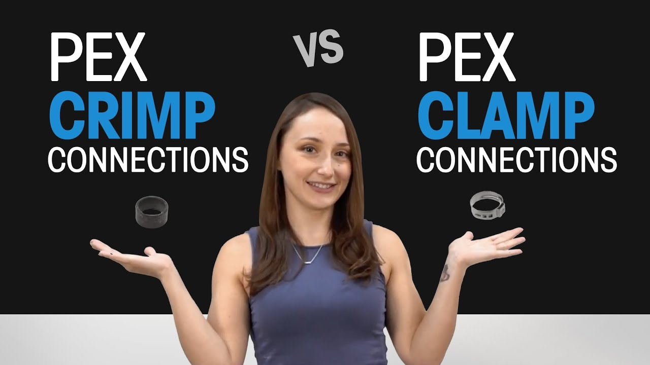 Differences Between PEX Crimp Connections and PEX Clamp Connections