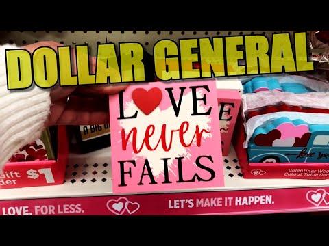DOLLAR GENERAL Valentine's Day Decor 2020