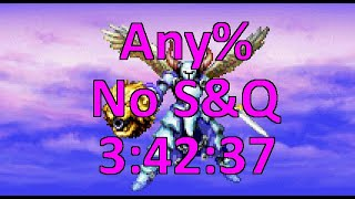 Golden Sun Any% No Save & Quit Speedrun in 3:42:37 [World Record]