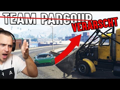 WIR WURDEN VERARSCHT! ?? LEVEL ASIAN TEAM PARCOUR (GTA 5 Online) thumbnail