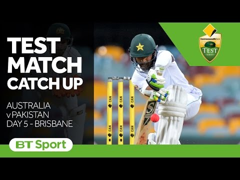 Australia vs Pakistan  First Test  Day Five Highlights   Test Match Catch Up New Flash Game