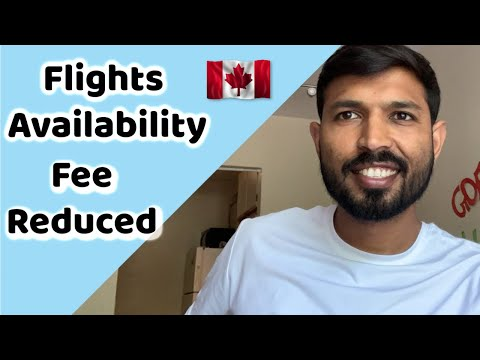Flight Availability And Fee Reduction By Canadian Colleges