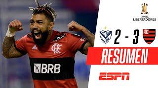 ¡PARTIDAZO Y VICTORIA DEL MENGAO EN LINIERS! | Vélez 2-3 Flamengo | RESUMEN