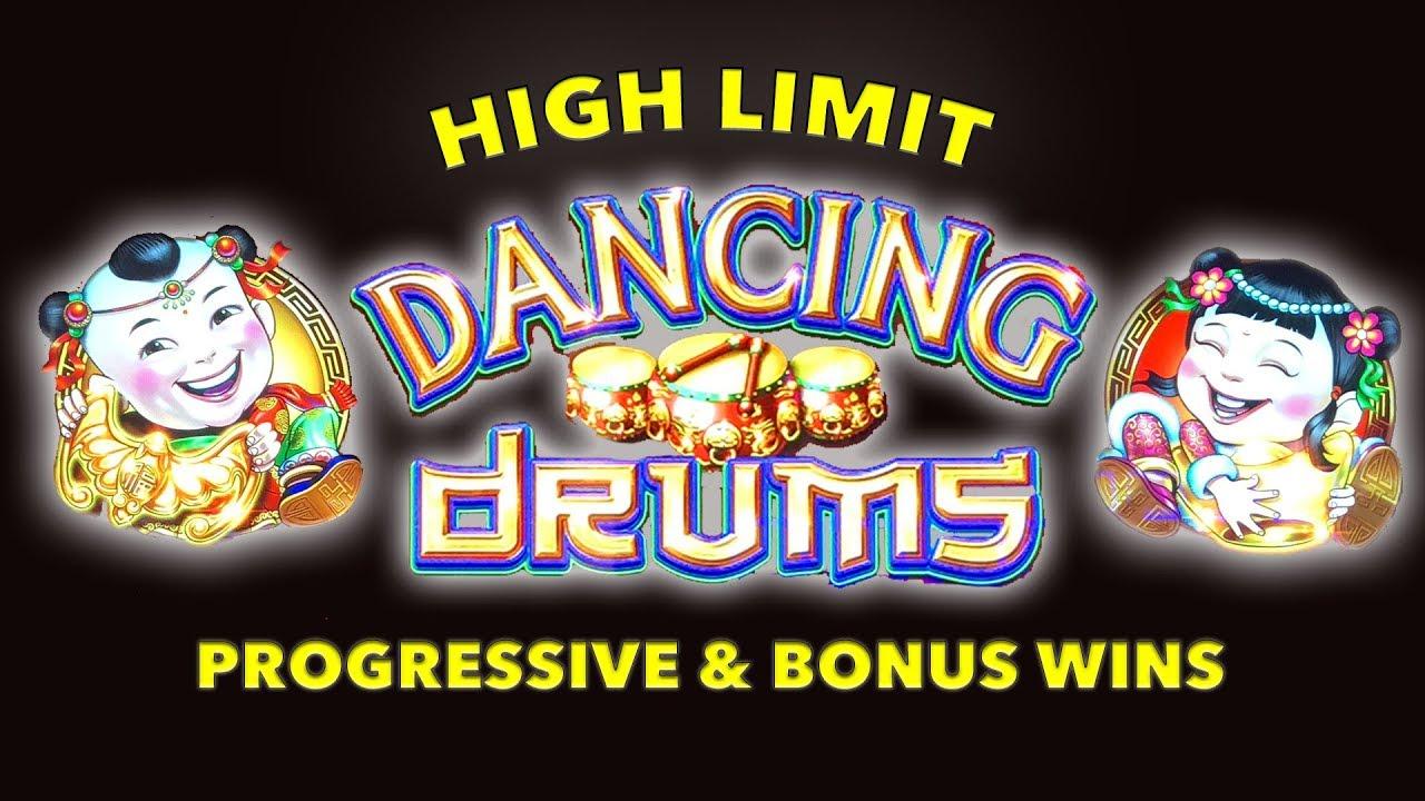 Golden Dancing Drums Slot Machine